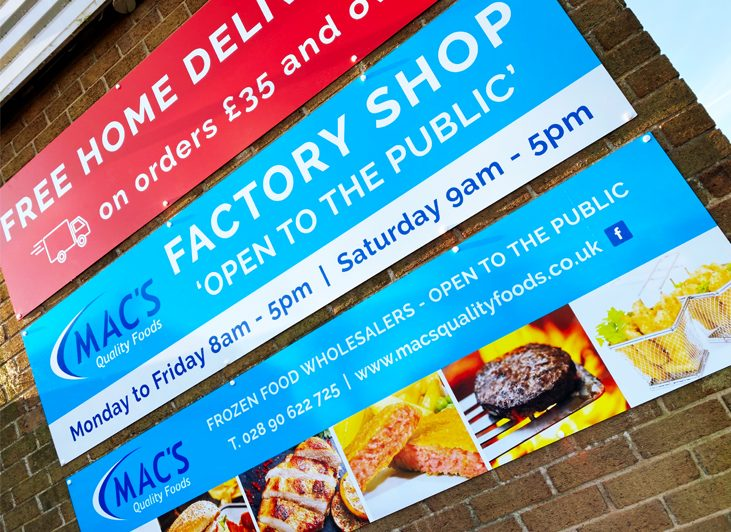 Macs Quality Foods - Factory Shop Open To The Public and Food Manufacturers - Dunmurry, Belfast